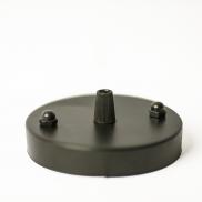 Балдахин для подвесного светильника (чёрный)