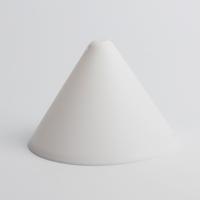 Балдахин для светильника пластиковый, белый