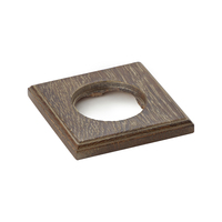 Деревянная рамка Vintage 1 пост квадрат Темный дуб с патиной