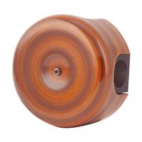 Керамическая распределительная коробка Lindas малая (D - 78мм) палисандр