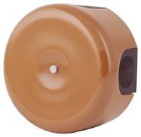 Керамическая распределительная коробка Lindas (D - 90мм) молочный шоколад