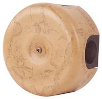 Керамическая распределительная коробка Lindas (D - 90мм) капучино