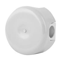 Керамическая распределительная коробка Lindas малая (D - 78мм) белая