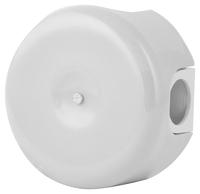 Керамическая распределительная коробка Lindas (D - 90мм) белая
