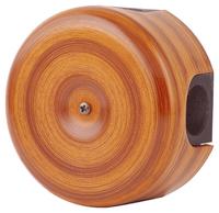 Керамическая распределительная коробка Lindas (D - 90мм) орех