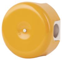 Керамическая распределительная коробка Lindas (D - 90мм) золотистая охра