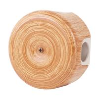 Керамическая распределительная коробка Lindas малая (D - 78мм) вишня