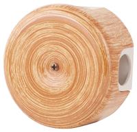 Керамическая распределительная коробка Lindas (D - 90мм) вишня