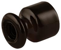 Фарфоровый изолятор Lindas коричневый