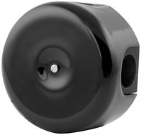 Керамическая распределительная коробка Lindas (D - 90мм) черная