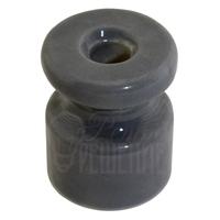 Изолятор серый фарфоровый