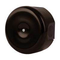 Керамическая распределительная коробка Lindas малая (D - 78мм) коричневая