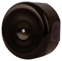 Керамическая распределительная коробка Lindas (D - 90мм) коричневая