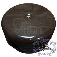 Коробка распределительная Bironi D78 мм пластик цвет коричневый