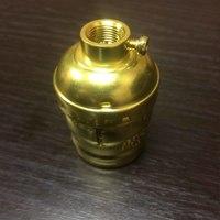 Комплект из 5 патронов HolderLamp vintage золото