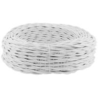 Провод витой 2х1,5 мм2 белый