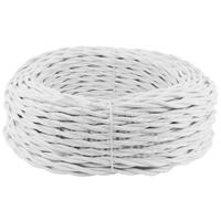 Провод витой 2х2,5 мм2 белый