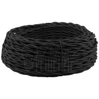 Провод витой 2х2,5 мм2 чёрный
