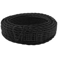 Провод витой 3х1,5 мм2 чёрный