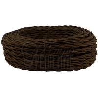 Провод витой 2х0,75 мм2 коричневый