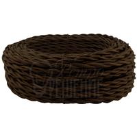 Провод витой 2х1,5 мм2 коричневый