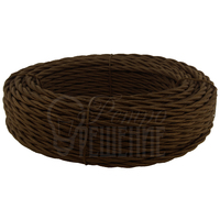 Провод витой 3х1,5 мм2 коричневый
