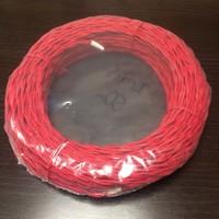 Провод витой 2х0,75мм2 красный 50 м
