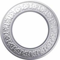 Рамка керамическая Antik Runda жемчужная 1 пост Werkel