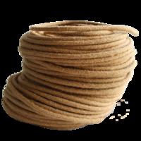 Провод круглый в тканевой оплетке (джут)